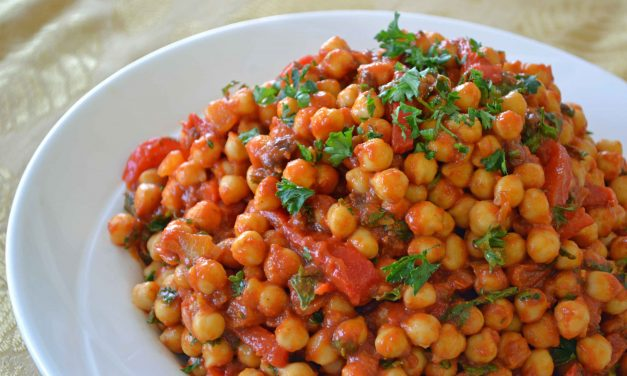 CHICKPEAS WITH ROASTED CUMIN MASALA