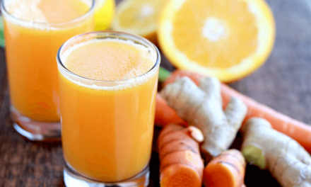 Citrus Turmeric Tonic Smoothie